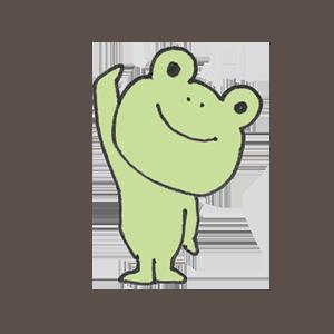 Frog PYOKOTA messages sticker-0