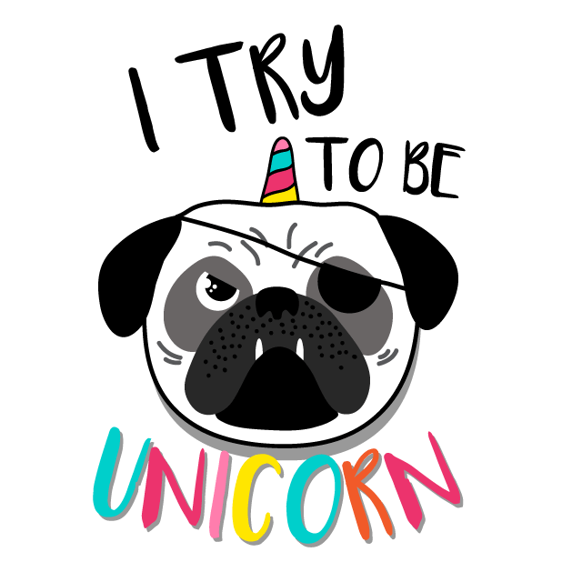 Unicorn Fun Emoji Stickers messages sticker-4