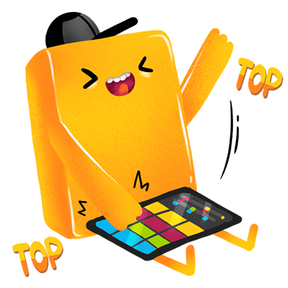 Rhythms: Music Maker Games messages sticker-11