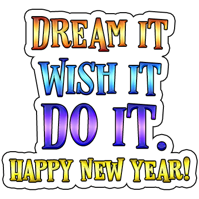 New Year's Fun Stickers messages sticker-7
