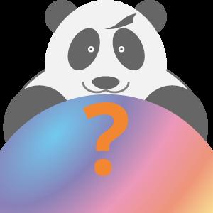 Panda UFO messages sticker-10