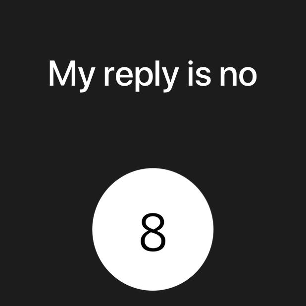 Modern Magic 8 Ball messages sticker-9