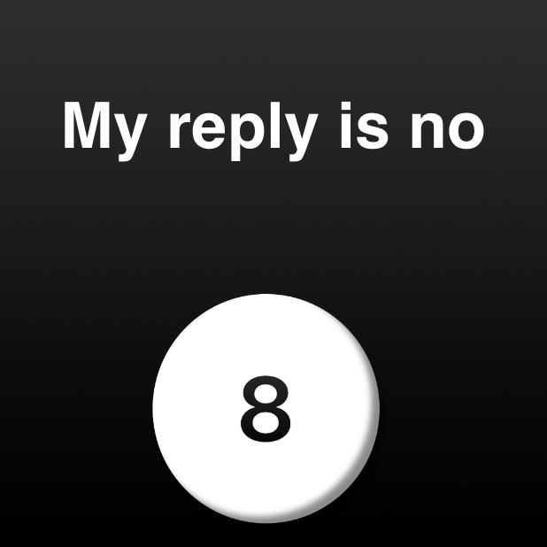 Modern Magic Ball messages sticker-7