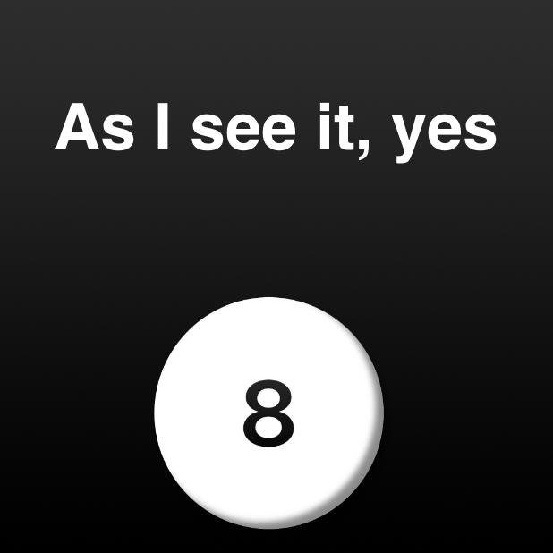 Modern Magic Ball messages sticker-1