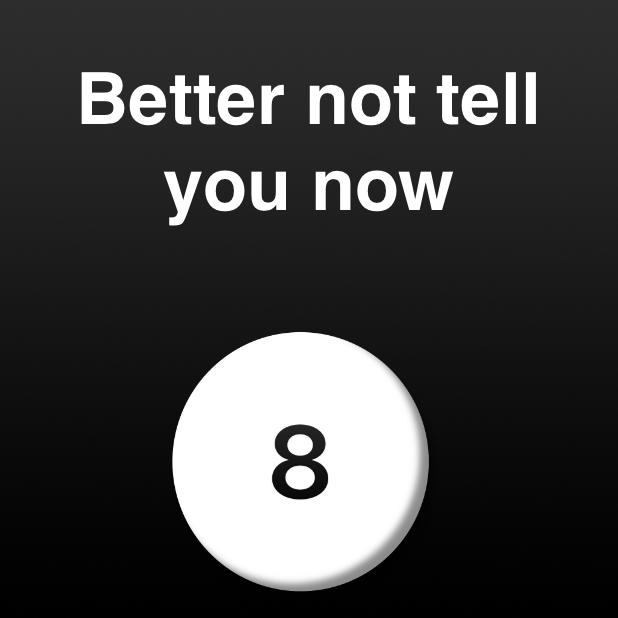 Modern Magic Ball messages sticker-10