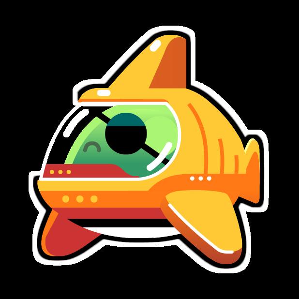 Monster Copter! messages sticker-8