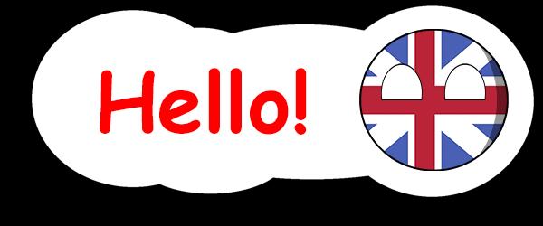 CountryBalls - UK messages sticker-9