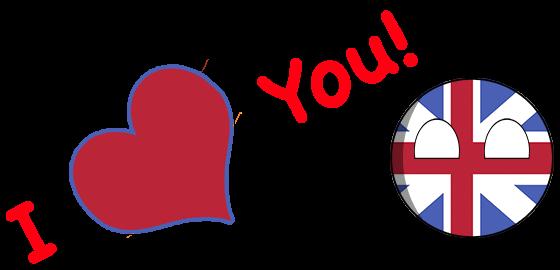 CountryBalls - UK messages sticker-7