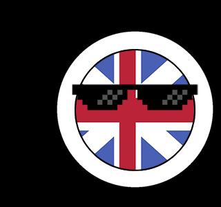 CountryBalls - UK messages sticker-4