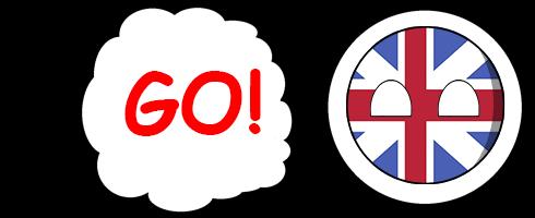 CountryBalls - UK messages sticker-6