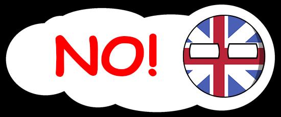 CountryBalls - UK messages sticker-2