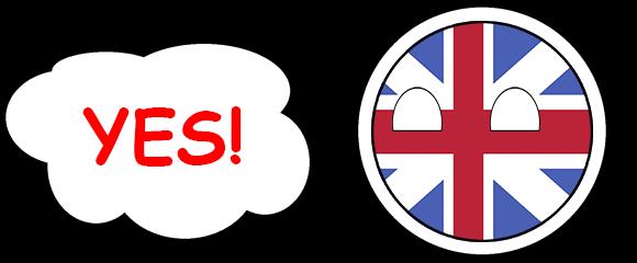 CountryBalls - UK messages sticker-0