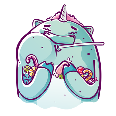 Bobby the Mint Unicorn messages sticker-8