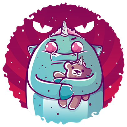 Bobby the Mint Unicorn messages sticker-0