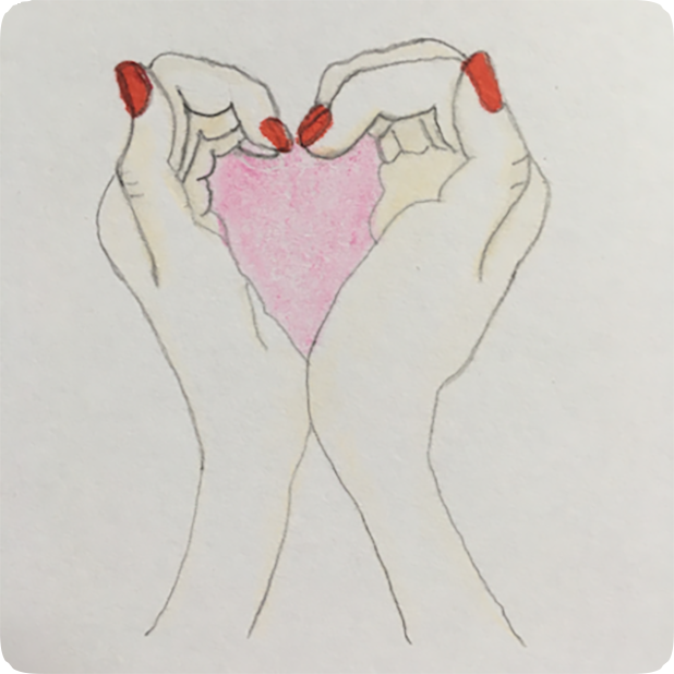 Heart Shaker : finger heart messages sticker-2
