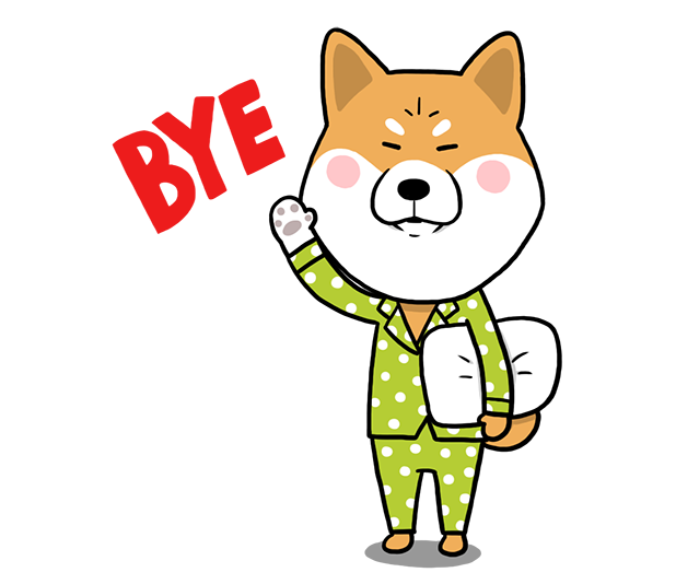 Shiba Dog 'Rui' messages sticker-9