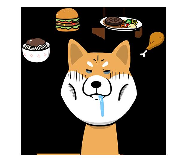 Shiba Dog 'Rui' messages sticker-7