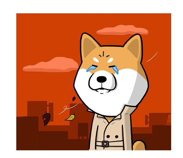 Shiba Dog 'Rui' messages sticker-6
