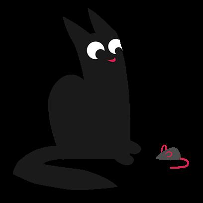 Maus Cat Stickers messages sticker-6