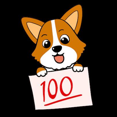 Royal Corgis Emoji Stickers messages sticker-9