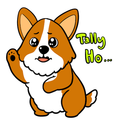 Royal Corgis Emoji Stickers messages sticker-6