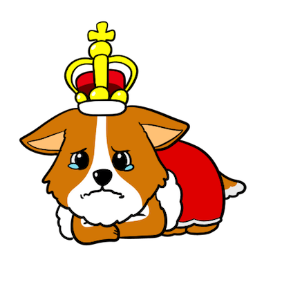 Royal Corgis Emoji Stickers messages sticker-2