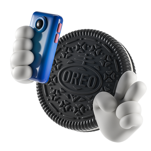 Oreo-emoji messages sticker-6