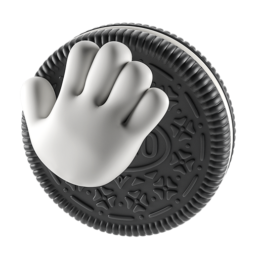 Oreo-emoji messages sticker-3