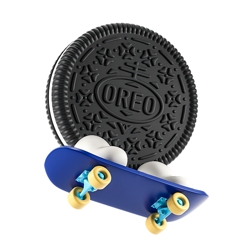 Oreo-emoji messages sticker-10
