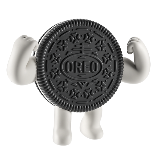 Oreo-emoji messages sticker-9