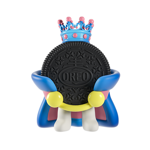 Oreo-emoji messages sticker-8