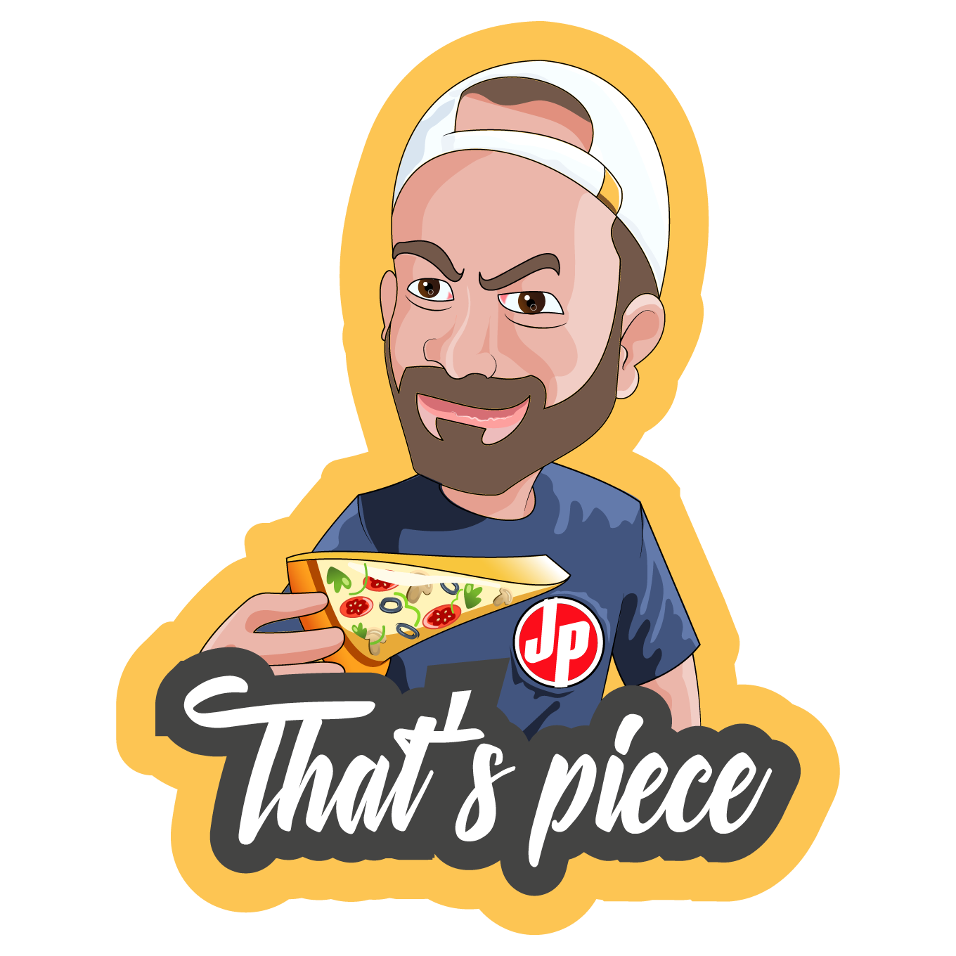 Johny's Pizza Stickers messages sticker-3