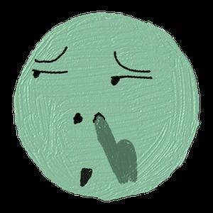 小黄脸涂鸦 messages sticker-10