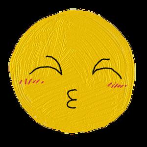 小黄脸涂鸦 messages sticker-3