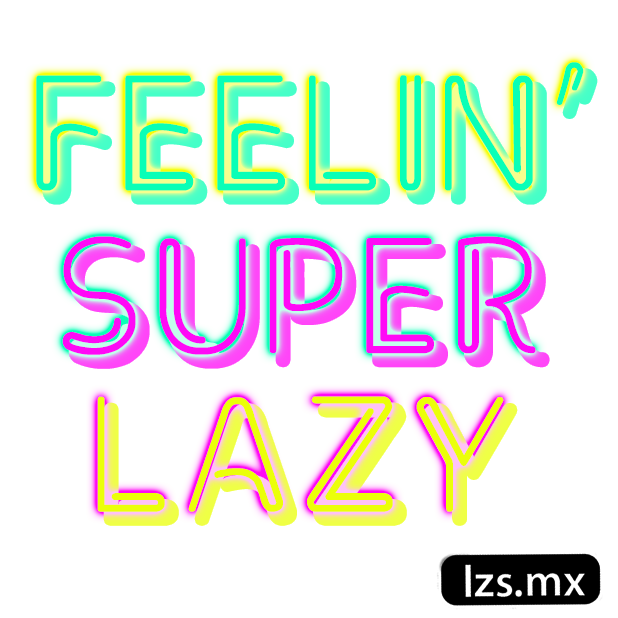 Lazy Sundays messages sticker-10