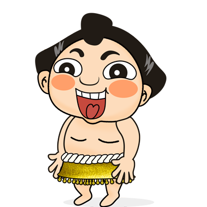 Sumo Wrestler Stickers messages sticker-9