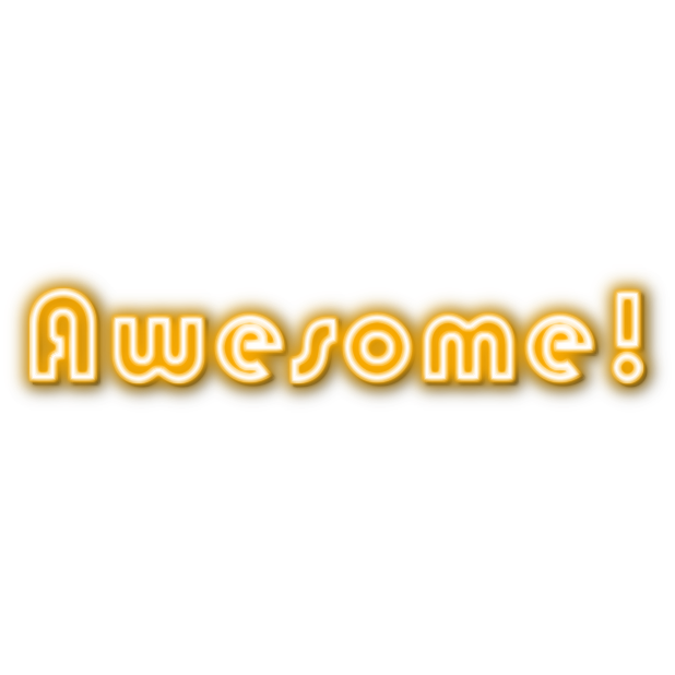 Ultimate Neon Stickers messages sticker-8