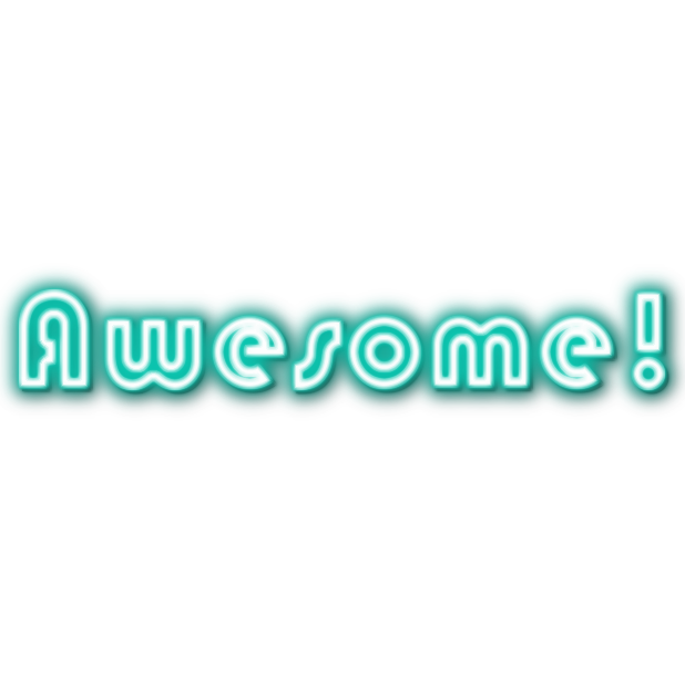 Ultimate Neon Stickers messages sticker-3