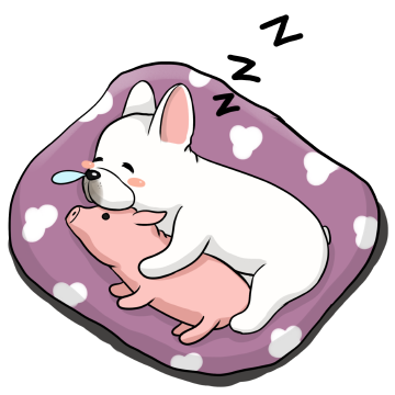 French Bulldog Stickers Ungdee messages sticker-10