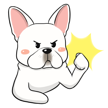 French Bulldog Stickers Ungdee messages sticker-4