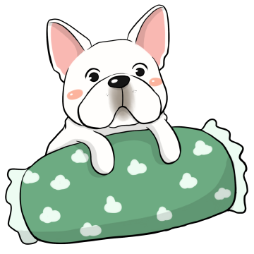 French Bulldog Stickers Ungdee messages sticker-0
