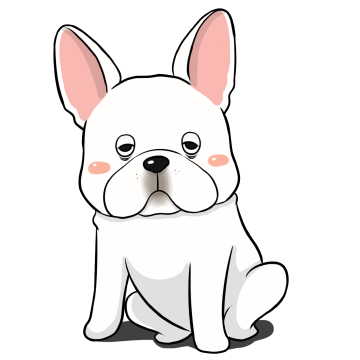 French Bulldog Stickers Ungdee messages sticker-3