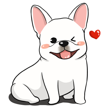 French Bulldog Stickers Ungdee messages sticker-6