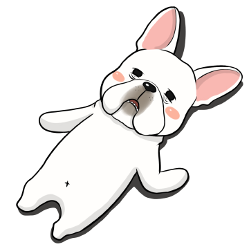 French Bulldog Stickers Ungdee messages sticker-11