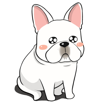 French Bulldog Stickers Ungdee messages sticker-7