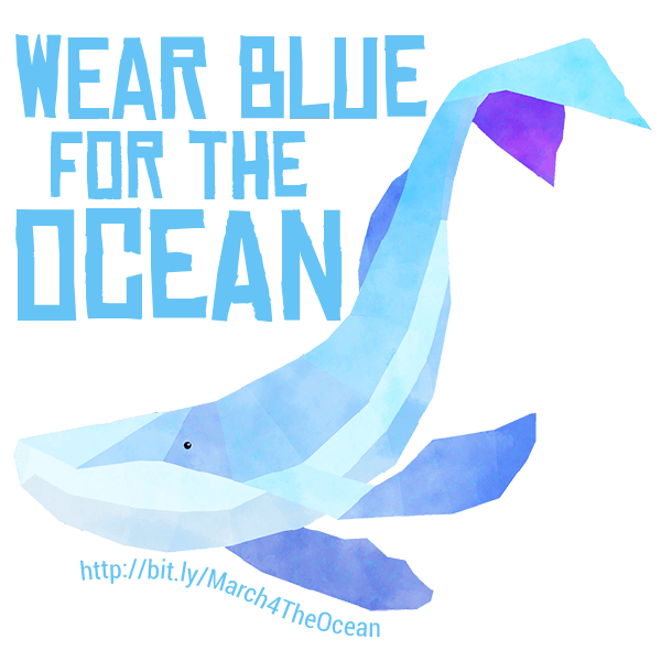March for the Ocean messages sticker-3