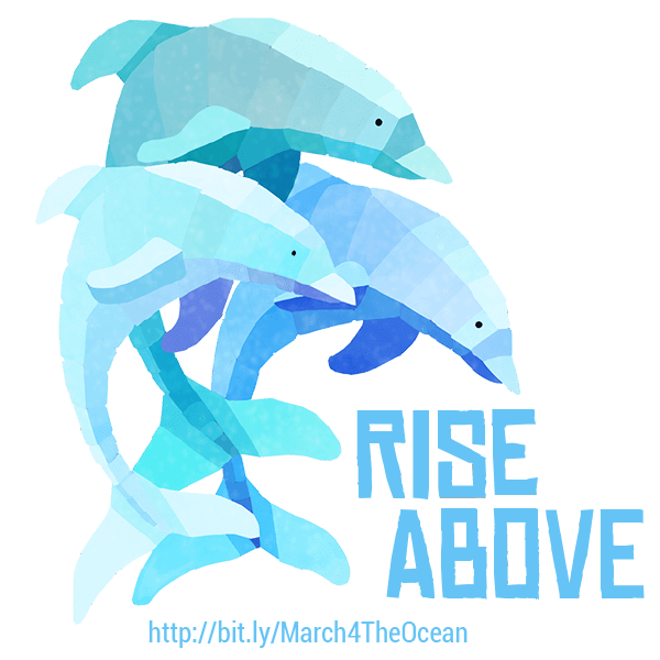 March for the Ocean messages sticker-4