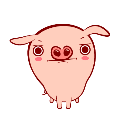 Piggy-Stickers messages sticker-4