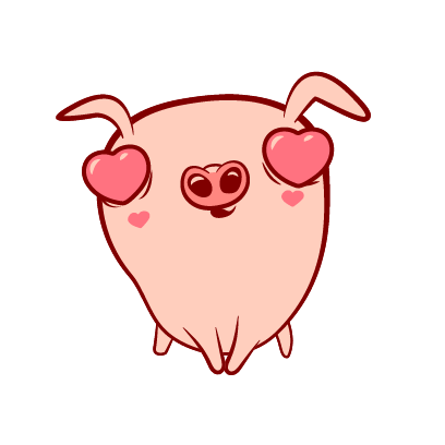 Piggy-Stickers messages sticker-9