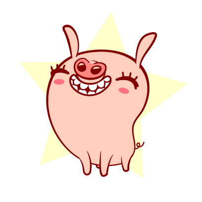 Piggy-Stickers messages sticker-11